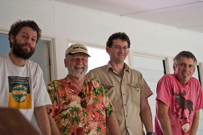 Ben, Rick, Michael and Greg.